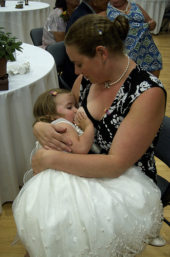 Breastfeeding At A Wedding
